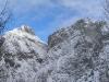 Velika Baba in Ledinski vrh na levi.