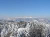 Lep razgled z vrha na kamniške planine.