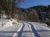 Pot v snegu