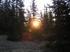 Sončni vzhod na Pohorju.