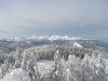 Vzpon na Vivodnik-Menina planina pozimi.