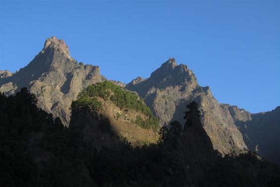 caldera-de-taburiente vrhovi