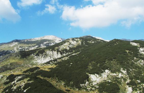 Oštrikovac, 2296m