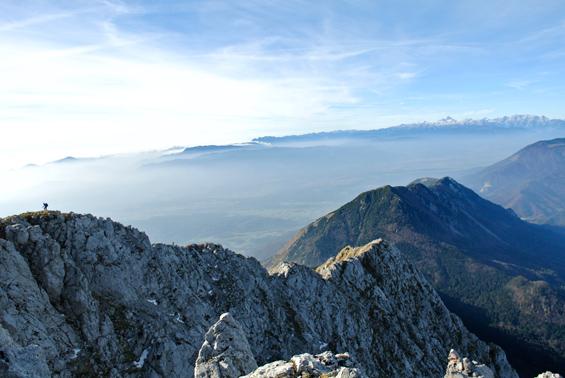Greben Storžiča in kriška gora
